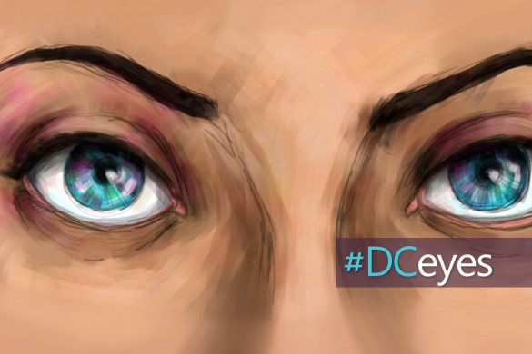 How to Draw Great Eyes: The #DCeyesTutorial