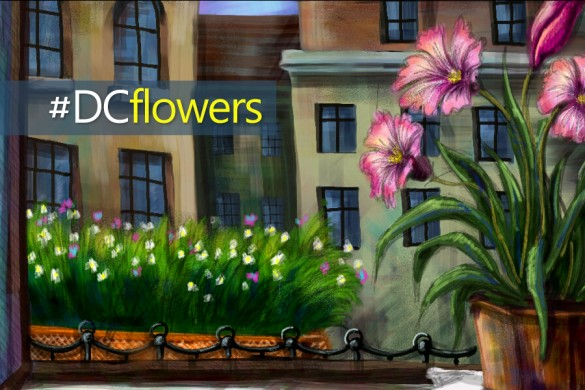 The PicsArt Drawing Challenge: #DCflowers