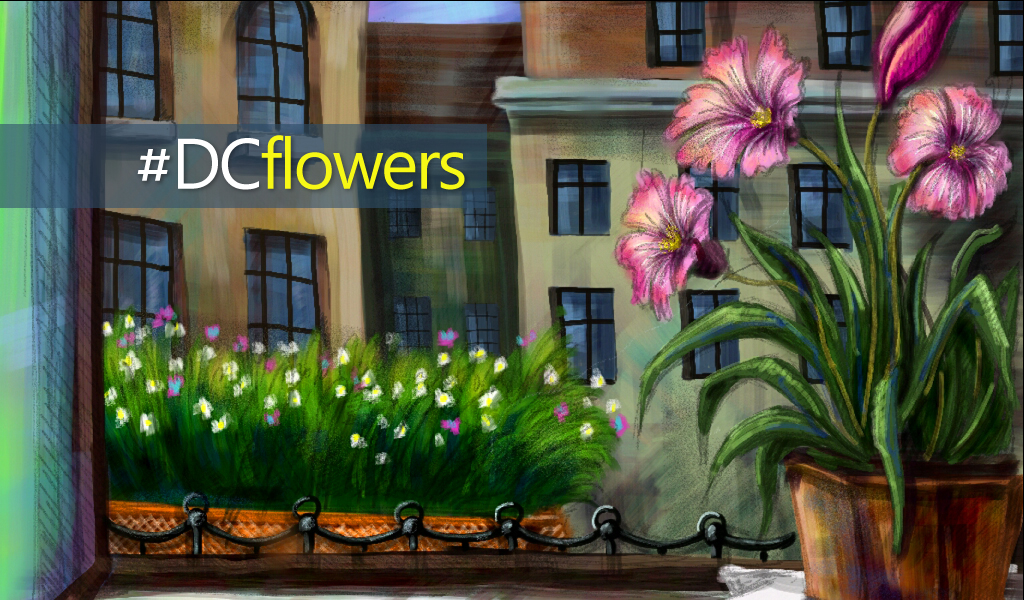 Flowers drawing challenge