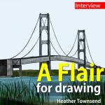 A flair for drawing: interview with Heather Townsend