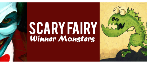 10 Cutest Monster Drawings: Finalists of DCmonsters