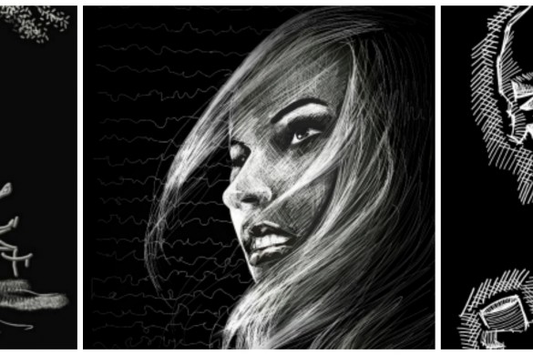 Drawing with Chalk: #DCscratchboard Winners