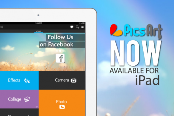 The Rumors Are True - PicsArt is on the iPad!
