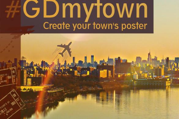 My Town Poster Graphic Design Challenge #GDmytown