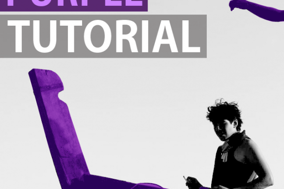 3 Ways to Create Purple Images with PicsArt
