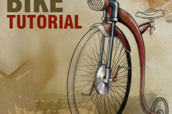 Step by Step Tutorial on How to Draw a Bike with PicsArt