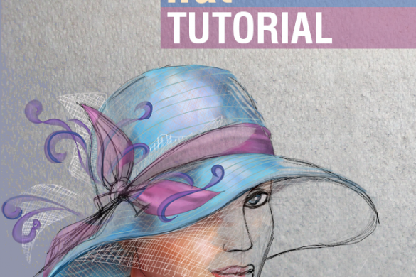 Step By  Step Tutorial on How to Draw  a Hat with PicsArt