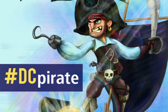 Come Aboard and Join Our Ultimate Pirate Drawing Contest #DCpirate