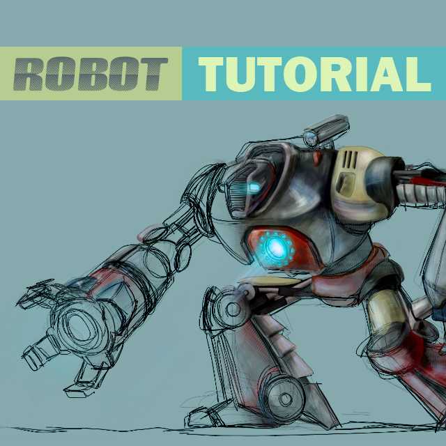 Step by Step Tutorial on How to Draw a Robot With PicsArt