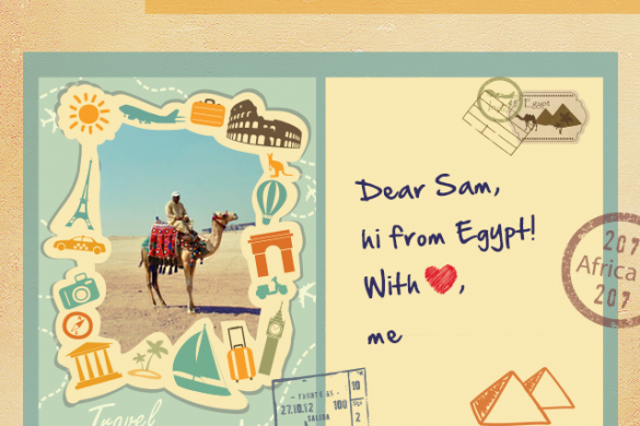 Wish You Were Here: Design your Travel Postcard for this Week's Graphic Design Contest