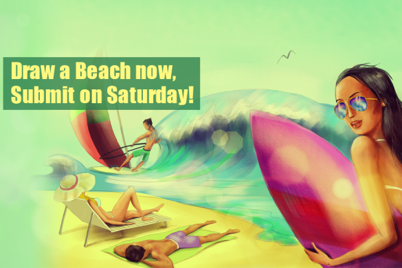 Fun in the Sun: Join our Beach Party and Enter This Week's Drawing Contest