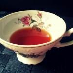 teacup on the table