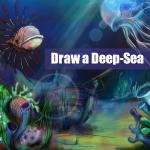 Step by step deep sea drawing tutorial