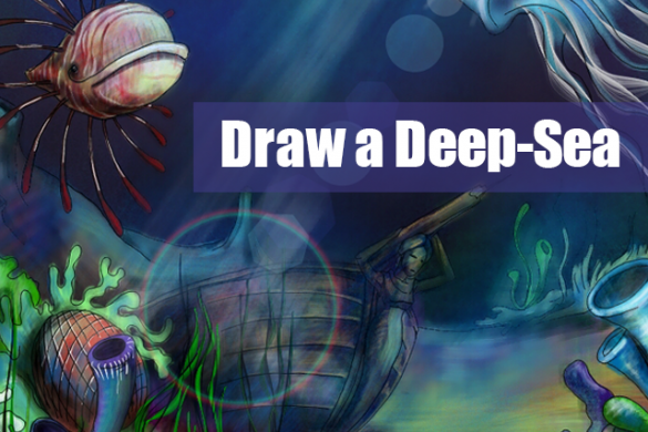 Preparing for Descent: Step-by-Step Deep Sea Drawing Tutorial