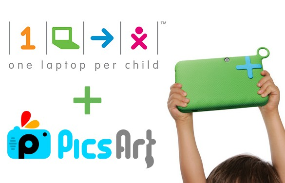 PicsArt and One Laptop per Child Help Kids Around the World Find their Inner Artist