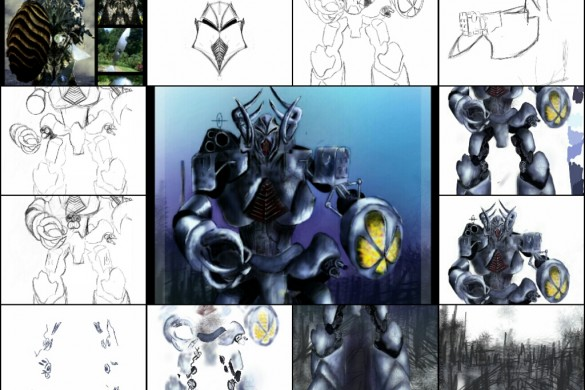 PicsArtists' Drawing Tutorials: The Mad-Science Behind This Week's Robots
