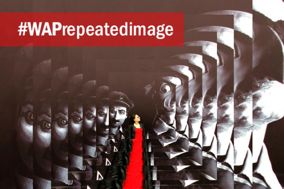 Use Add Photo to Create Images Repeated Into Infinity for the Weekend Art Project #WAPrepeatedimage