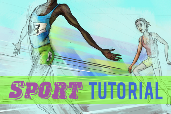 A Step-by-Step Tutorial on How to Draw Sports