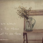 Flowers in carafe photo with Matisse quote on it