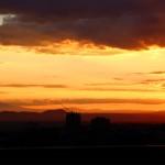 Landscape photo during golden hour