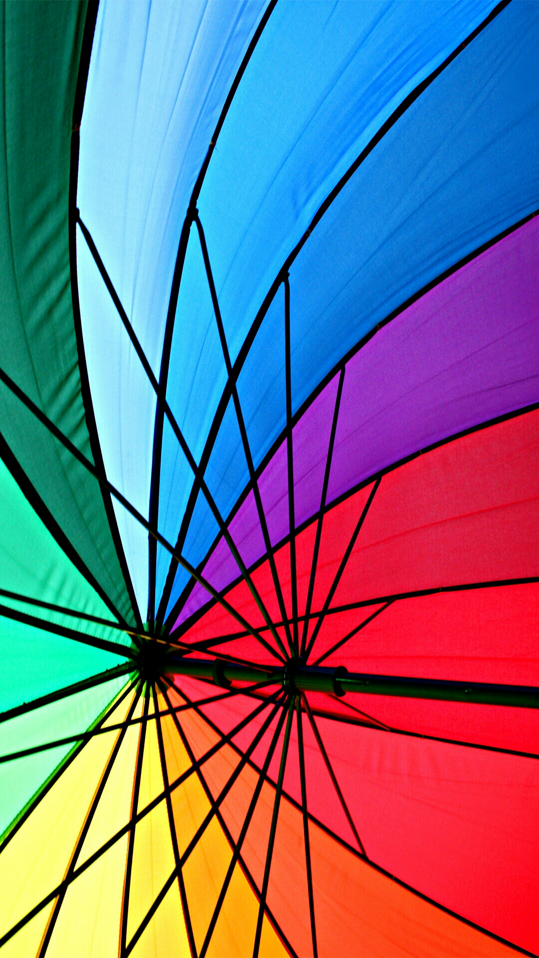 Colorful umbrella photo for the week review