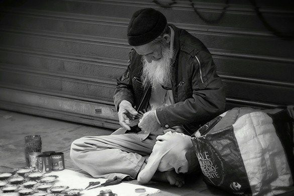 Photographing the Less Fortunate: A Gallery of Beggars