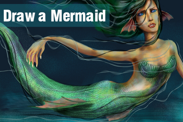 Follow The Siren's Song and Join The Mermaid Drawing Contest