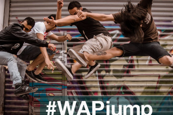 Jump! Capture Portraits of People in Mid-Air for the Weekend Art Project