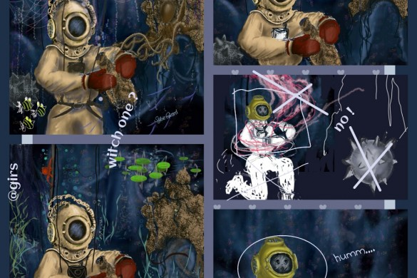 User Tutorials From the Deep Sea Drawing Challenge