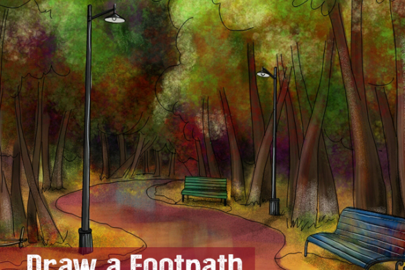 Walking a Path: The Footpath Drawing Challenge