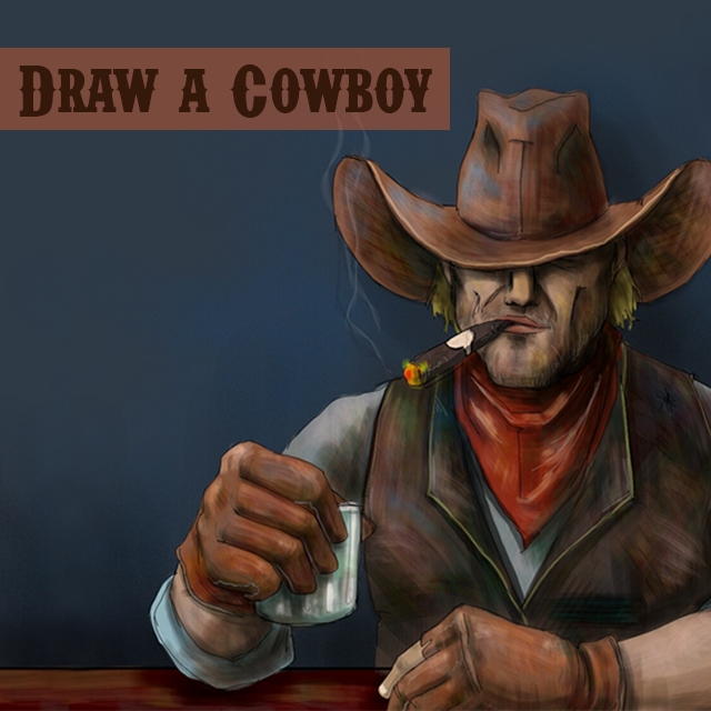cowboy drawing contest