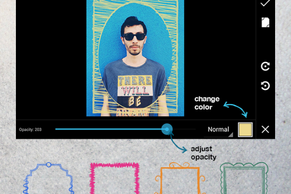 New Android Update! Doodle Frames, Upgraded Profiles, and More!