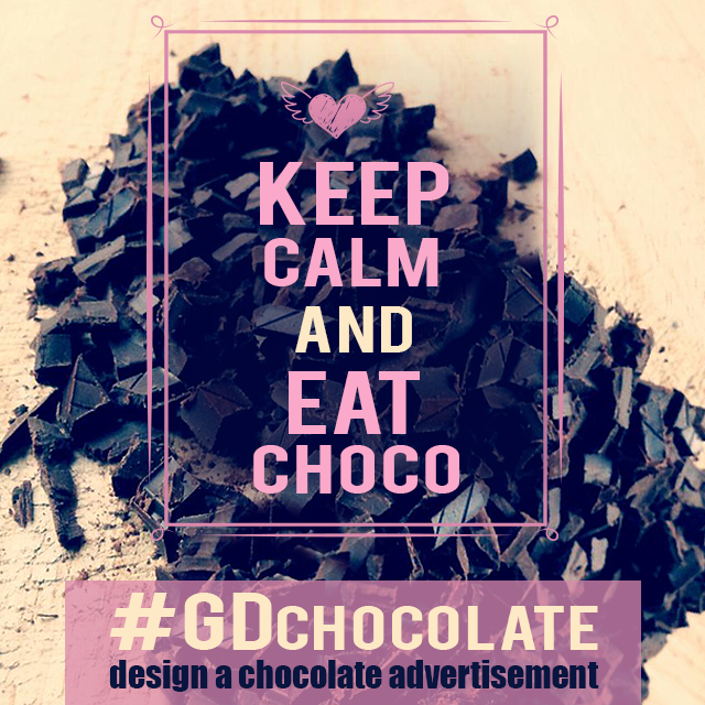 chocolate ad graphic design contest