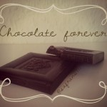 Chocolate ad design from the graphic design challenge