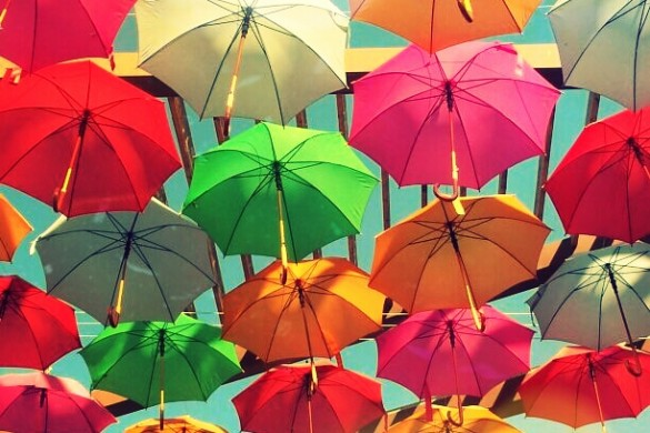 Shade from the Sun and Shelter from the Storm: A Photo Gallery of Umbrellas