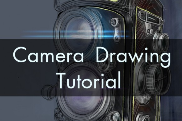 How To Draw a Camera: A Step-By-Step Drawing Tutorial