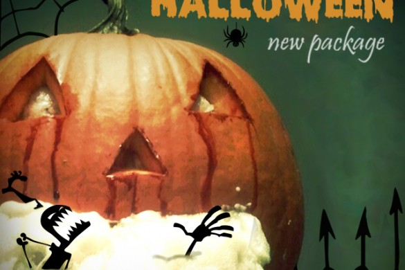 New Funky Halloween Clipart Package