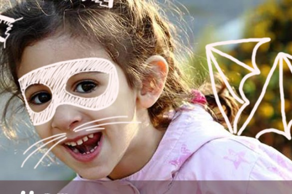 Draw Costumes Onto Your Photos for this Week's Graphic Design Challenge! #GDdrawcostume