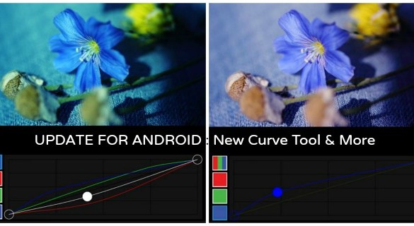 New PicsArt Android Update! Curves Tool and the Ghost Camera Effect