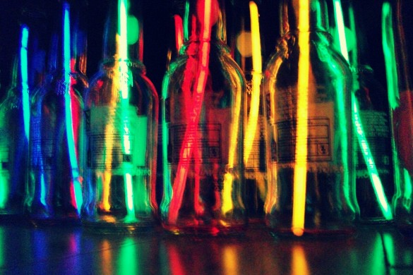 Sipping from a Prism: A Gallery of Bottles