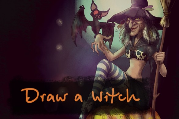 Enter The Wickedly Awesome Witch Drawing Challenge
