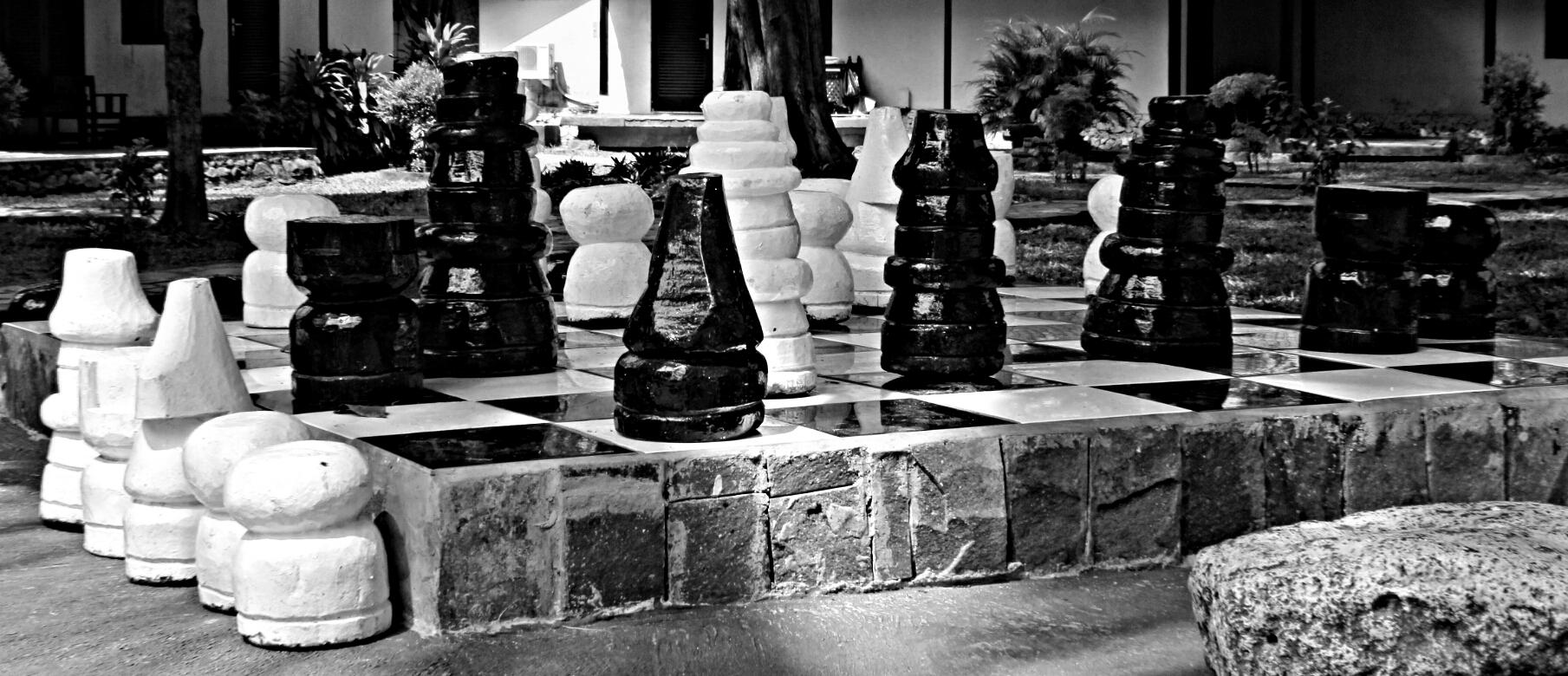 Big stone chess