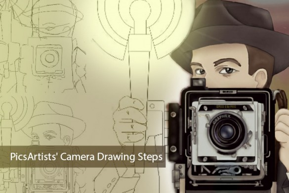 PicsArt User Tutorials From the Camera Drawing Challenge