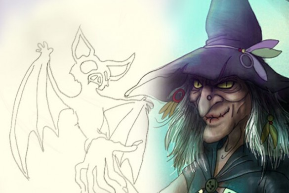 How To Draw the Wickedest Witch: A Step-By-Step Drawing Tutorial