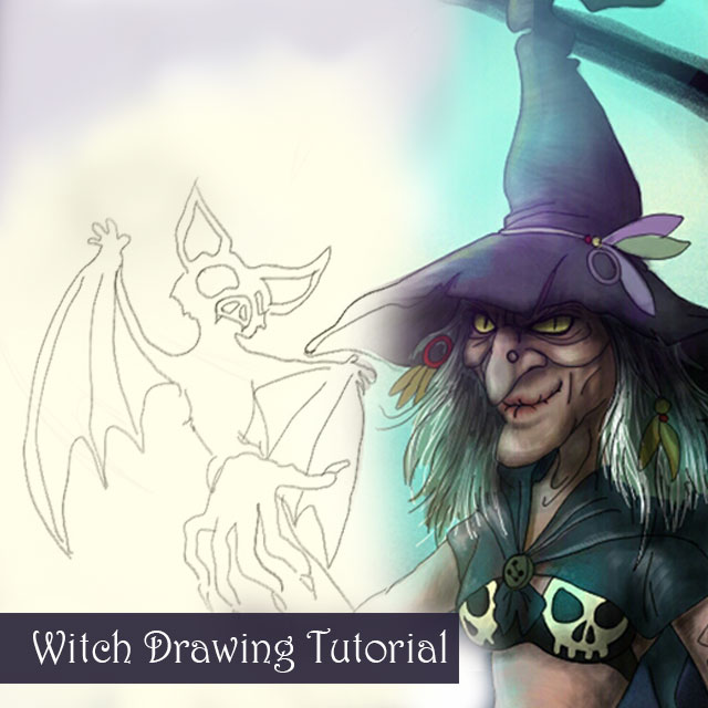 How to draw the wickedest witch