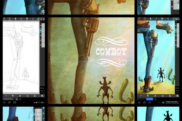 PicsArt User Tutorials From the Cowboy Drawing Challenge
