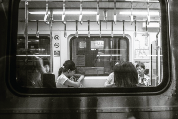 Weekend Art Project: Take Photos of People inside of Trains, Buses, or Subways! #WAPinpublictransport