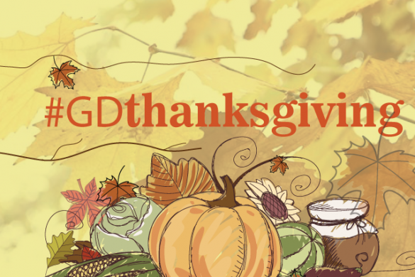 Design a Thanksgiving Card for this Week's Graphic Design Challenge! #GDthanksgiving