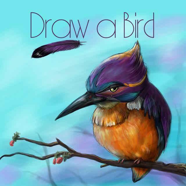 bird drawing art contest