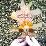 Autumn leaf edited for Thanksgiving by Picsart \
